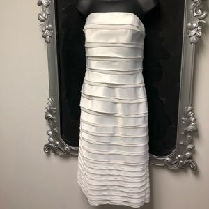 White House Black Market Satin Cocktail Dress